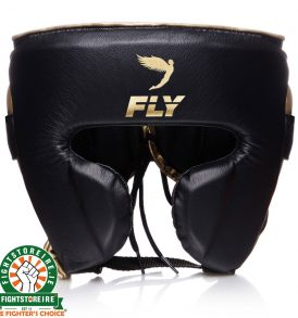 Fly KNIGHT Cheek Head Guard - Black/Gold