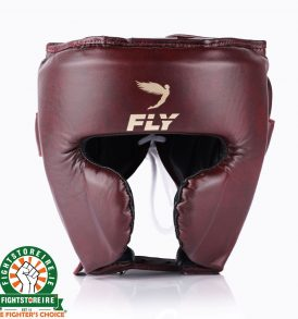 Fly KNIGHT Cheek Head Guard - Oxblood