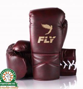 Fly SUPERLACE Training Boxing Gloves - Oxblood