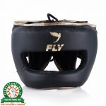 Fly Superbar Head Guard - Black/Gold