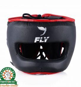 Fly Superbar Head Guard - Black/Red