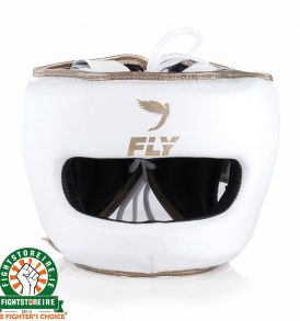 Fly Superbar Head Guard - White/Gold