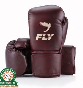 Fly Superloop Training Boxing Gloves - Oxblood