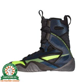 Nike Hyper KO 2 Boxing Boots - Black/Metalic Cool Grey/Blue