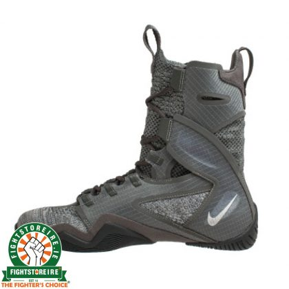 Nike Hyper KO 2 Boxing Boots - Iron Grey/Metal Silver