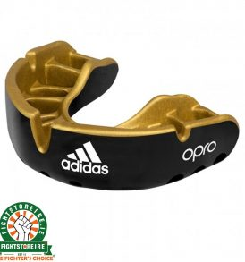 Adidas Gen4 Mouthguard Gold Edition - Black