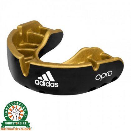 Adidas Gen4 Mouthguard Gold Edition - Black