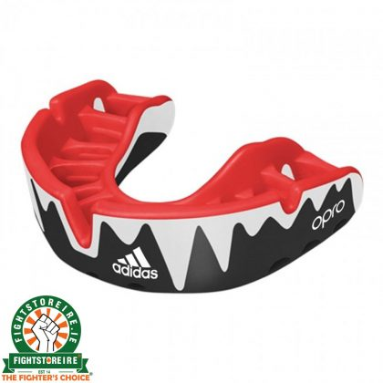 Adidas Gen4 Mouthguard Platinum Edition - Red/Black/White
