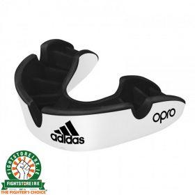 Adidas Gen4 Silver Edition Mouthguard - White