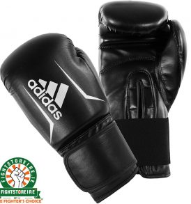 Adidas Speed 50 Boxing Gloves - Black/White