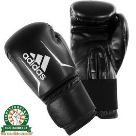 Adidas Speed 50 Boxing Gloves - Black/White