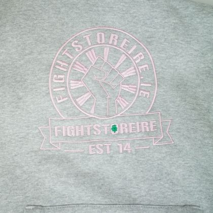 Fightstore Heavyweight Premium Hoodie - Grey