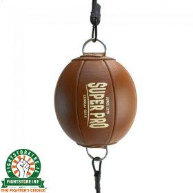 Super Pro Vintage Double End Ball - Leather