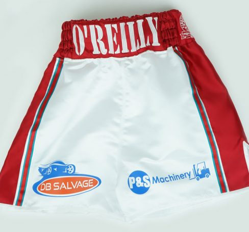 Aaron O'Reilly - Custom Boxing Shorts