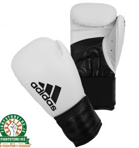 Adidas Hybrid 100 White Boxing Gloves