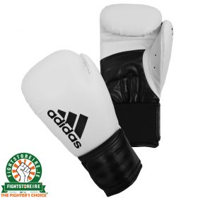 Adidas Hybrid 100 White Boxing Gloves