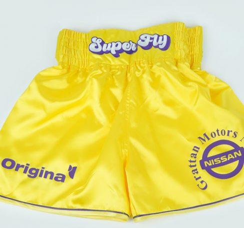Tony Browne Custom Boxing Shorts - Made in Dublin