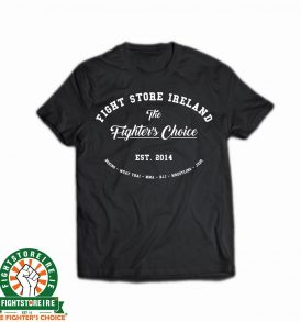 Fightstore IRE Slogan Tee - Black