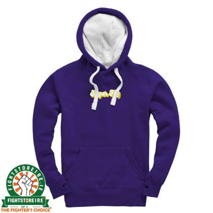 Fightstore x Super Fly Heavyweight Premium Hoodie - Purple