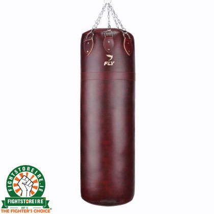 Fly 5ft Super Boxing Bag - Leather