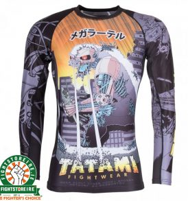 Tatami Cyber Honey Badger Rash Guard - Long Sleeve