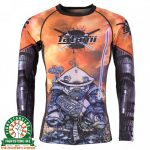 Tatami Cyber Samurai Panda Rash Guard - Long Sleeve