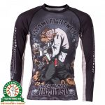 Tatami Cyber Thinker Monkey Rash Guard - Long Sleeve