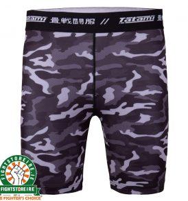 Tatami Rival Black and Camo Vale Tudo Shorts