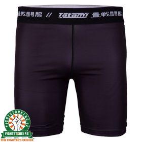 Tatami Rival Solid Black Vale Tudo Shorts