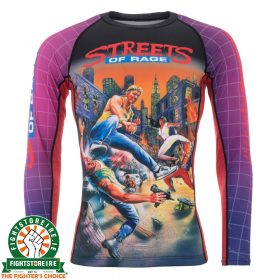 Tatami Sega Streets Of Rage Rash Guard - Long Sleeve