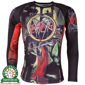 Tatami Slayer Reign In Blood Rash Guard - Long Sleeve