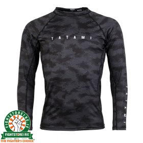 Tatami Standard Edition Black Digital Camo Long Rash Guard