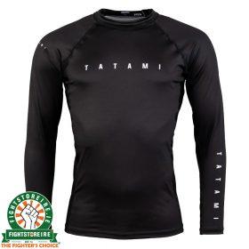 Tatami Standard Edition Solid Black Long Rash Guard