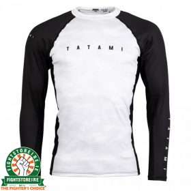 Tatami Standard Edition White Digital Camo Long Rash Guard