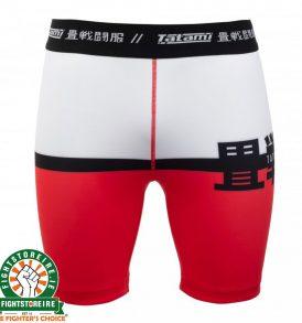 Tatami Super Vale Tudo Shorts - White/Red/Black