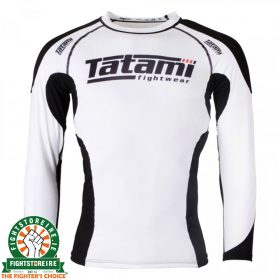 Tatami Technical Long Sleeve Rash Guard - White