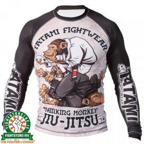 Tatami Thinker Monkey Rash Guard - Long Sleeve