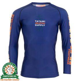 Tatami Tropic Navy Long Sleeve Rash Guard