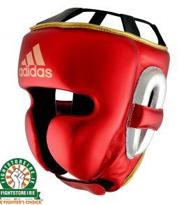 Adidas adiStar Pro Headguard Metallic - Red/Gold