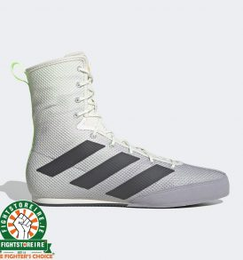 Adidas Box Hog 3 Boxing Boots White / Grey
