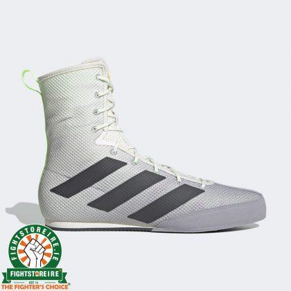 Adidas Box Hog 3 Boxing Boots White / Grey