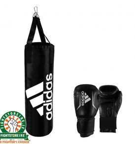 Adidas Kids Boxing Bag & Gloves