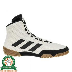 Adidas Tech Fall 2.0 Wrestling Boots - White/Black