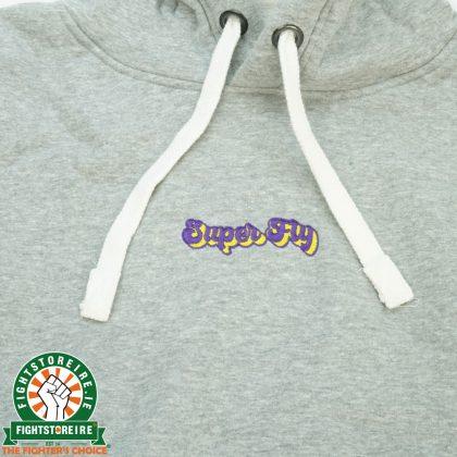 Fightstore x Super Fly Heavyweight Premium Hoodie - Grey