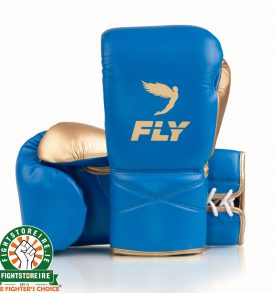 Fly Superlace X Training Gloves - Blue Gold