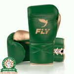 Fly Superlace X Training Gloves - Green Gold