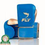 Fly Superloop X Training Gloves - Blue Gold