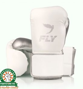 Fly Superloop X Training Gloves - White Silver