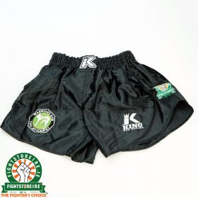 King x Warriors Muay Thai Shorts - Black