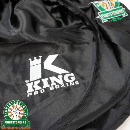 King x Warriors Muay Thai Shorts - Black